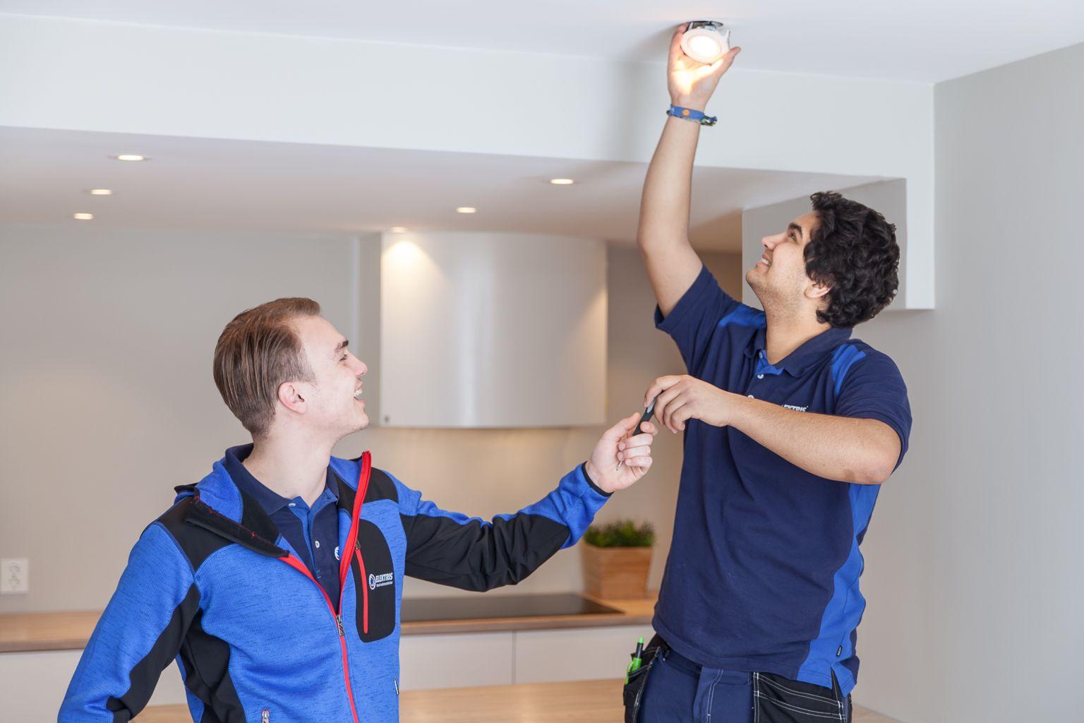 Belysning elektriker spotter LED