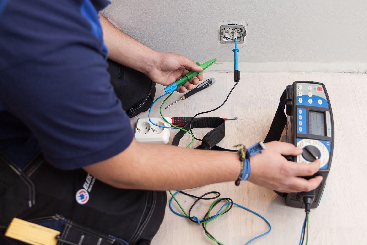 Elektriker fra Elektris - Elsjekk