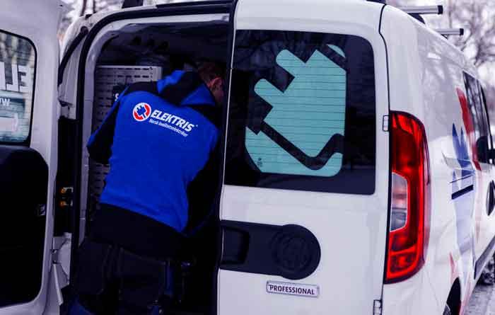 Elektris - bil - vakt